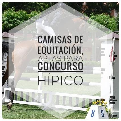 Camisas de equitación, aptas para concurso hípico