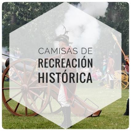 Camisas de recreación histórica