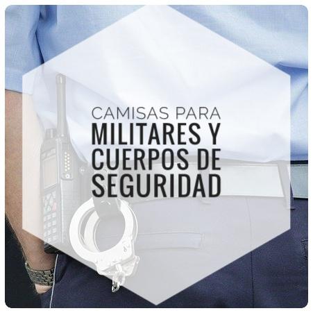 Camisas para militares y cuerpos de seguridad