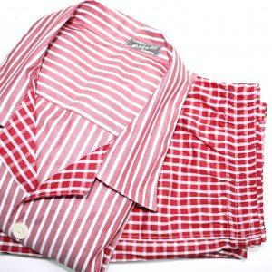 Pijama a medida rojo